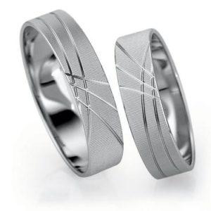 Forlovelsesringer / gifteringer – Bredde 5 mm