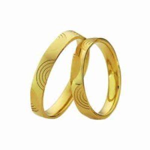 Forlovelsesringer / gifteringer – Bredde 3,5 mm