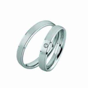 Forlovelsesringer/gifteringer – Bredde 3,5 mm