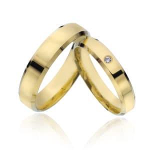 Forlovelse/giftering 4mm, 5mm