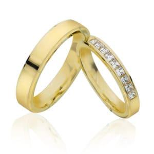 Forlovelse/giftering 3,3mm, 4,3mm