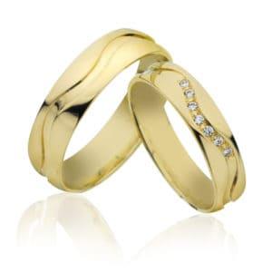 Forlovelse/giftering 4,5mm, 5,5mm